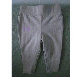 Under Armour grey yoga pants (18 mos.)
